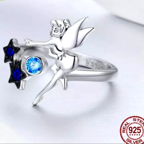 Sterling Silver Tinkerbell Ring